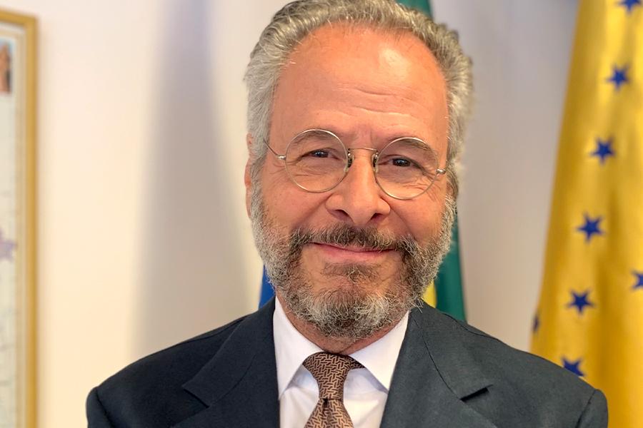 H.E. Mr. André Aranha Corrêa do Lago, Ambassador of Brazil to India