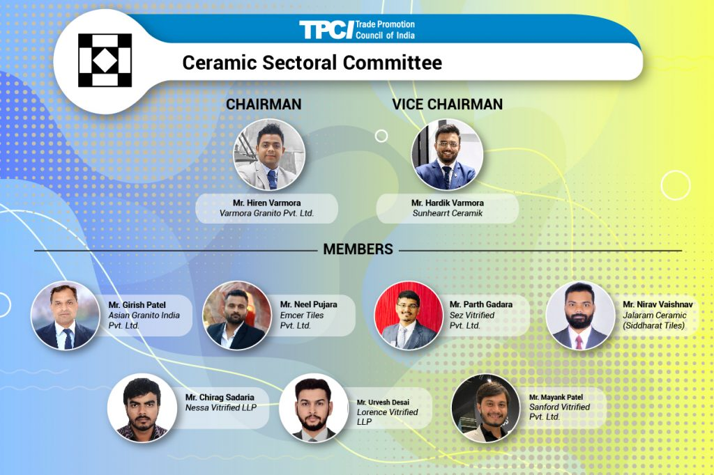 Indian businesses in the ceramics sector