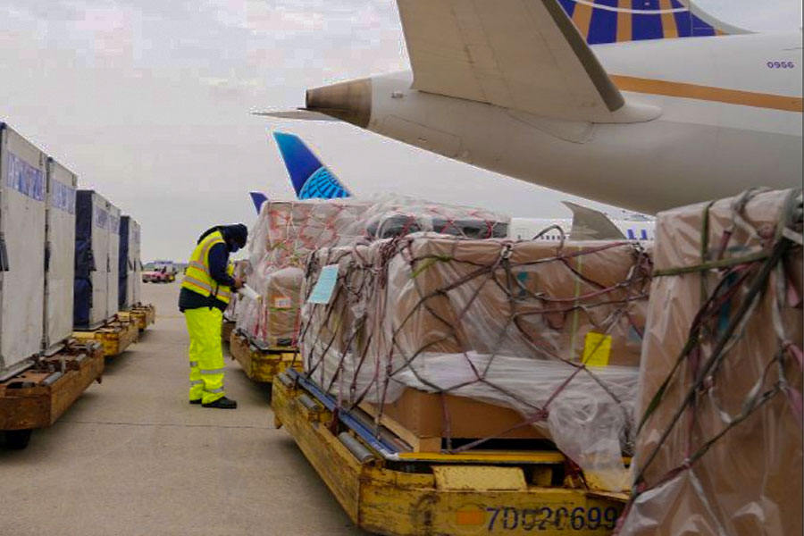 102 Oxygen Concentrators headed for India from Mexico