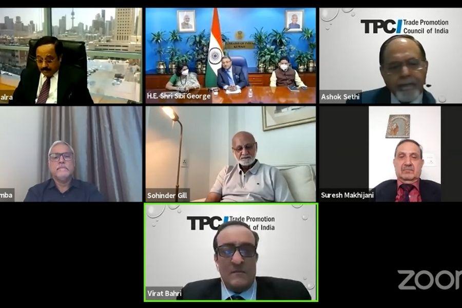 India-Kuwait relations webinar_TPCI