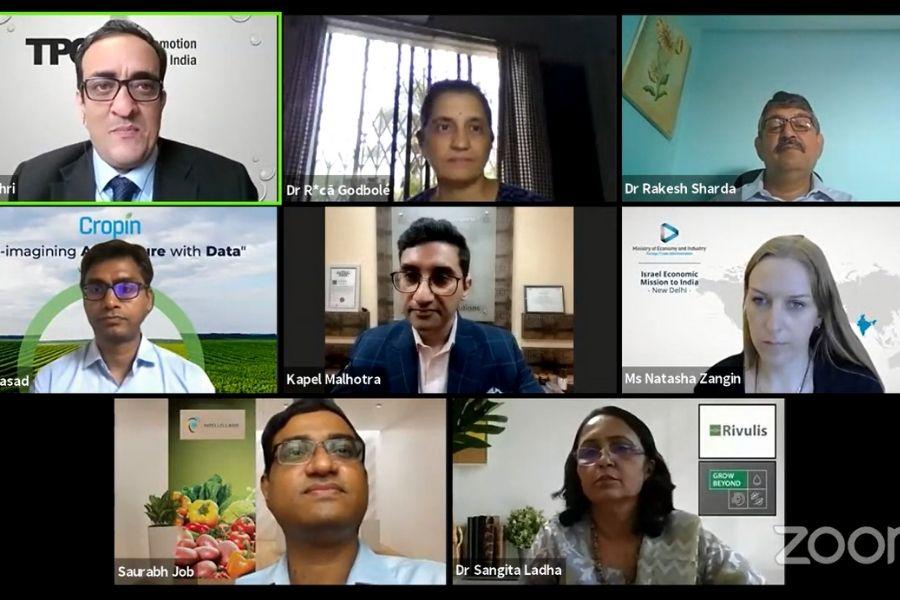 India-Israel agritech webinar