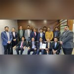TPCI and Indo-Canada Chamber of Commerce members pose for a group photograph