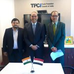 The Commercial Counselor of the Embassy of the Arab Republic of Egypt graced his presence at TPCI office