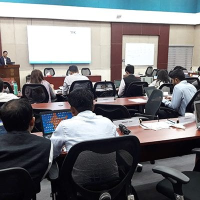 Induction Training Programme at Foreign Service Institute