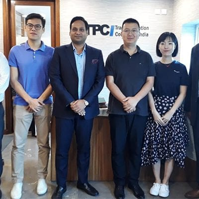 Chinese delegations visits TPCI